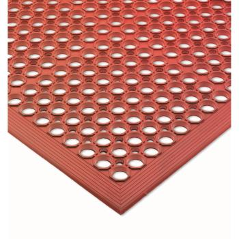 SANKM1200B - San Jamar - KM1200B - EZ-Mats Light Duty Red Floor Mat Product Image