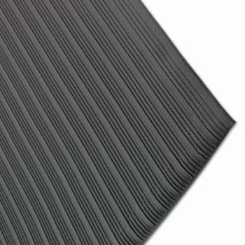 SANKM4100BK - San Jamar - KM4100BK - 2 1/4 ft x 3 ft Anti-Fatigue Black Floor Mat Product Image