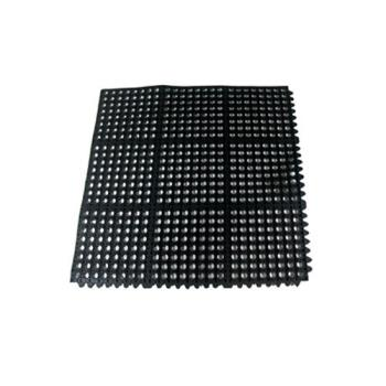 51291 - Update  - FM-33B - 3 ft x 3 ft Black Anti-Fatigue Floor Mat Product Image
