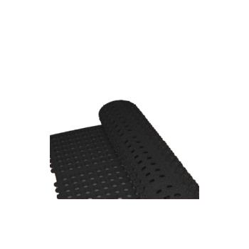 WINRBMI33K - Winco - RBMI-33K - 3 ft x 3 ft x 1/2 in Black Floor Mat Product Image