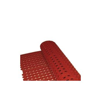 WINRBMI33R - Winco - RBMI-33R - 3 ft x 3 ft x 1/2 in Red Floor Mat Product Image