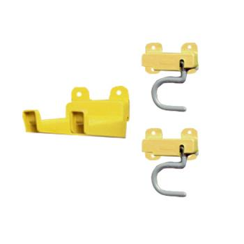 75984 - Rubbermaid - FG199400YEL - 3-Piece Value Kit, 2 S-Hooks, 1 Double Hook Product Image