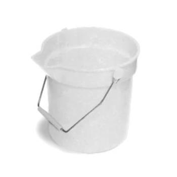 75969 - Continental Co. - 8110 WH - Huskee 10 qt Utility Bucket Product Image