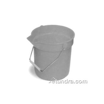 75505 - Continental Co. - 8110GY - 10 Qt Gray Utility Bucket Product Image