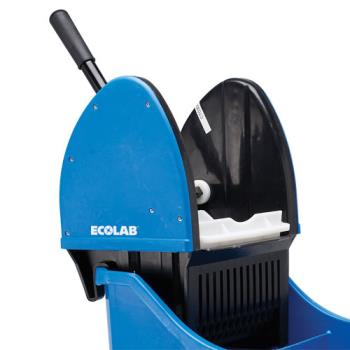 76122 - Ecolab - 89990148 - Blue Replacement Wringer for Mop Bucket Product Image