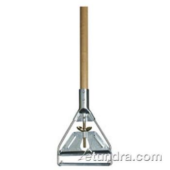 75967 - Carlisle - 4034000 - 63 in Wood Mop Handle with Metal Head Product Image