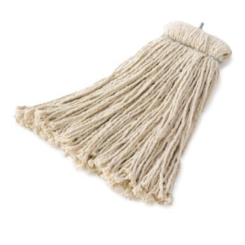 12895 - Rubbermaid - FGF16600WH00 - 16 oz White Cotton Mop Head Product Image