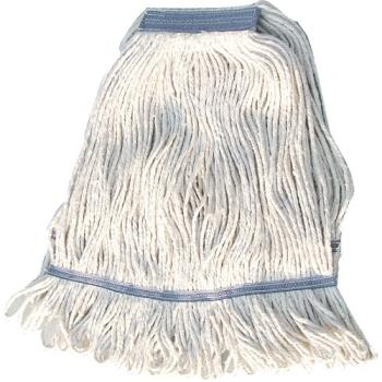 WINMOP24W - Winco - MOP-24W - 24 Oz White Looped End Mop Head Product Image