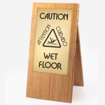 CLM85260 - Cal-Mil - 852-60 - Bamboo Wet Floor Sign Product Image