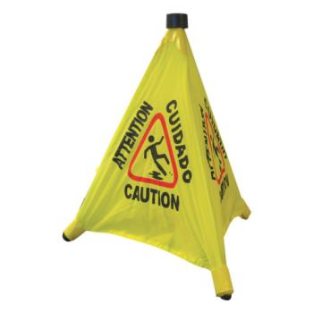 THGPLFCS330 - Thunder Group - PLFCS330 - 18 in Pop-Up Caution Cone Product Image