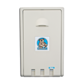 86311 - Koala - KB101-00 - Cream Vertical Mount Baby Changing Station Product Image