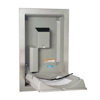 KOAKB111SSRE - Koala - KB111-SSRE - Recess Mount SS Vertical Mount Baby Changing Station Product Image