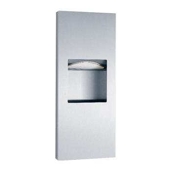 BOBB36903 - Bobrick - B-36903 - TrimlineSeries™ Paper Towel Dispenser & Waste Receptacle Product Image