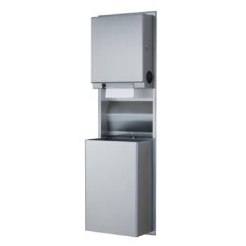 BOBB3961 - Bobrick - B-3961 - ClassicSeries™  Paper Towel Dispenser & Waste Receptacle Product Image