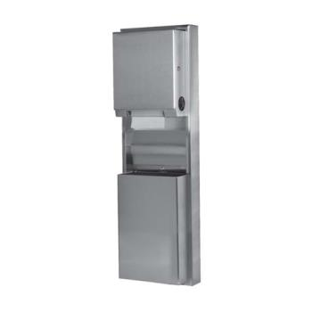 BOBB39619 - Bobrick - B-39619 - ClassicSeries™ Paper Towel Dispenser & Waste Receptacle Product Image