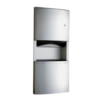BOBB4369 - Bobrick - B-4369 - ConturaSeries®  Paper Towel Dispenser & Waste Receptacle Product Image