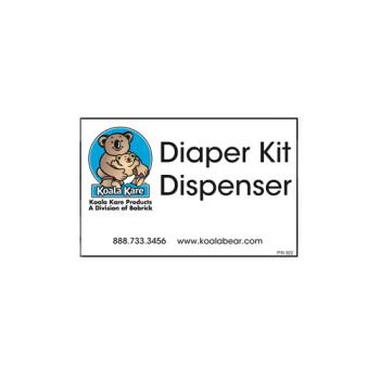69199 - Koala - 922 - Diaper Dispenser Label Product Image