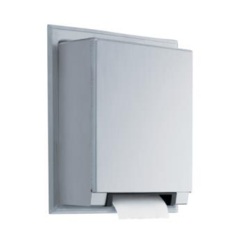 BOBB29744 - Bobrick - B-29744 - Semi-Recessed Automatic Universal Roll Paper Towel Dispenser Product Image