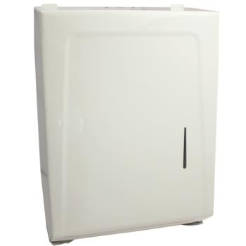 58403 - Continental Commercial - 990W - White Paper Towel Dispenser Product Image