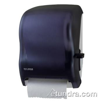 SANT1100TBK - San Jamar - T1100TBK - Classic Black Lever Roll Towel Dispenser Product Image