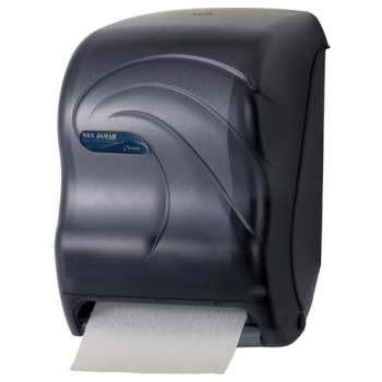 38246 - San Jamar - T1390TBK - Oceans® Tear-N-Dry Black Touchless Paper Towel Dispenser Product Image