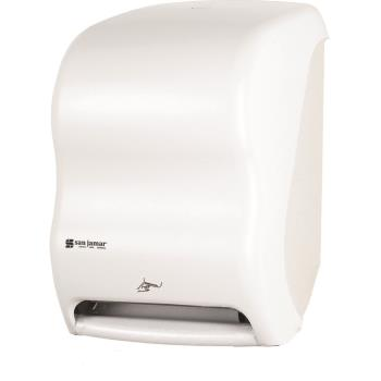 SANT1400WH - San Jamar - T1400WH - Smart System Classic White Towel Dispenser Product Image