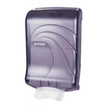 SANT1790TBK - San Jamar - T1790TBK - Ultrafold Oceans Black Folded Towel Dispenser Product Image