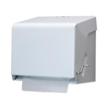 SANT800WH - San Jamar - T800WH - White Crank Roll Towel Dispenser Product Image