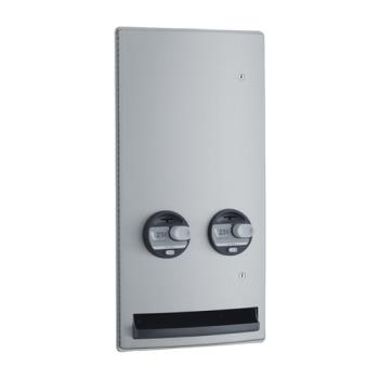 BOBB470625 - Bobrick - B-4706 25 - ConturaSeries® Recessed 25 Cent Napkin/Tampon Dispenser Product Image