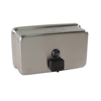 38204 - American Specialties - ASI0345 - Stainless Steel 40 oz Wall Mount Soap Dispenser Product Image