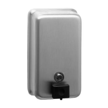 76378 - Bobrick - B-2111 - ClassicSeries™ Vertical Surface-Mounted Soap Dispenser Product Image