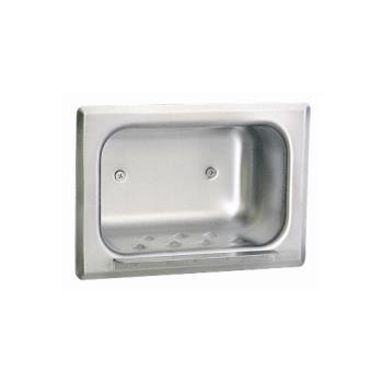 BOBB4380 - Bobrick - B-4380 - Recessed Soap Dish For Stud Walls Product Image