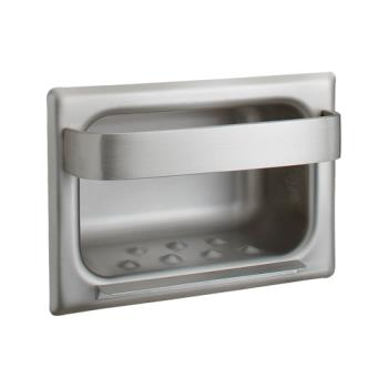 BOBB4390 - Bobrick - B-4390 - Recessed Soap Dish & Bar For Stud Walls Product Image