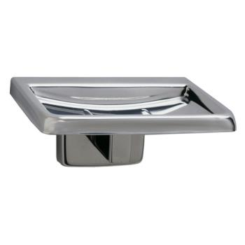 BOBB680 - Bobrick - B-680 - Surface-Mounted Soap Dish with Bright Finish Product Image