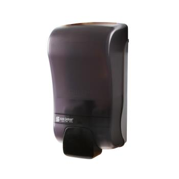 SANS46TBK - San Jamar - S1300TBK - 44 oz Black Liquid Soap Dispenser Product Image