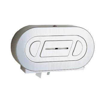 BOBB2892 - Bobrick - B-2892 - ClassicSeries™ Twin Jumbo Roll Toilet Tissue Dispenser Product Image