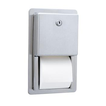 BOBB3888 - Bobrick - B-3888 - ClassicSeries™ Recessed Multi-Roll Toilet Tissue Dispenser Product Image
