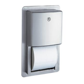 BOBB4388 - Bobrick - B-4388 - ConturaSeries™ Recessed Multi-Roll Toilet Tissue Dispenser Product Image