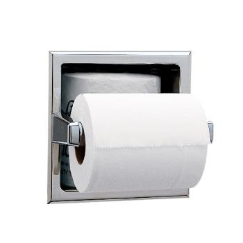 BOBB6637 - Bobrick - B-6637 - Recessed Toilet Tissue Dispenser with Storage Space Product Image