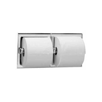 BOBB6977 - Bobrick - B-6977 - Recessed Double Roll Toilet Tissue Dispenser with Satin Finish Product Image