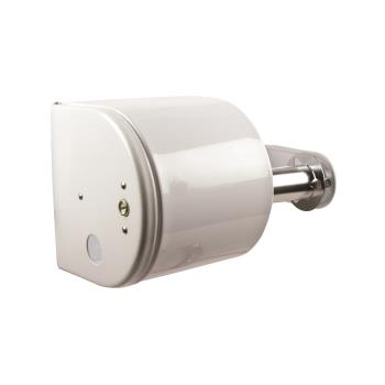 SANR1500WH - San Jamar - R1500WH - Twin White Covered Bath Tissue Dispenser Product Image