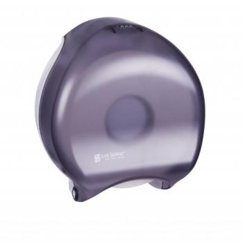 SANR6000TBK - San Jamar - R6000TBK - 12 in Oceans Black Single Roll Bath Tissue Dispenser Product Image