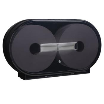 SCA14107549 - Tork - 247549A - Black Large Twin Tissue Roll Dispenser Product Image