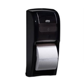 75560 - Tork - 555628 - Elevation Black Bath Tissue Roll Dispenser Product Image