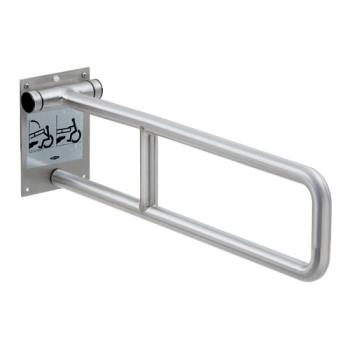 BOBB499899 - Bobrick - B-4998.99 - Swing-Up Peened Stainless Steel Grab Bar Product Image