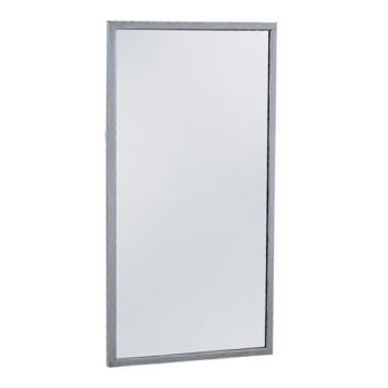 BOBB1654836 - Bobrick - B-165 4836 - 48 in x 36 in Channel-Frame Mirror Product Image