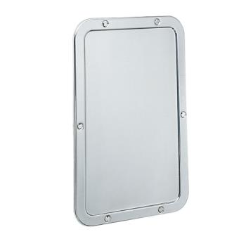BOBB942 - Bobrick - B-942 - 11 1/4 in x 17 1/4 in Frameless Mirror Product Image