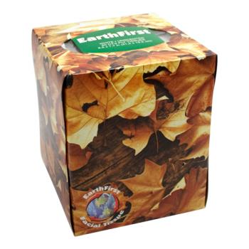 58431 - Earth First - 65710 - Earth First Facial Tissue- Cube Box Product Image