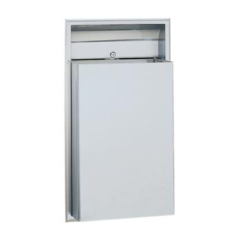 BOBB3644 - Bobrick - B-3644 - ClassicSeries™ Recessed 12 Gallon Waste Receptacle Product Image