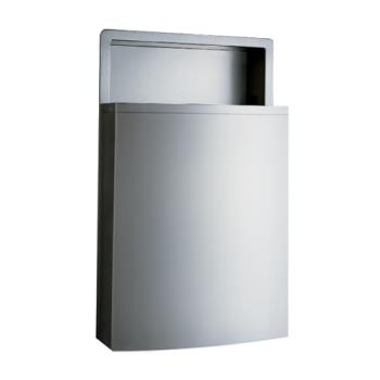 BOBB43644 - Bobrick - B-43644 - ConturaSeries® Recessed 11.2 Gallon Waste Receptacle Product Image